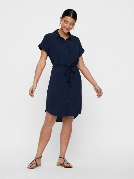 VMSASHA SHIRT SS DRESS